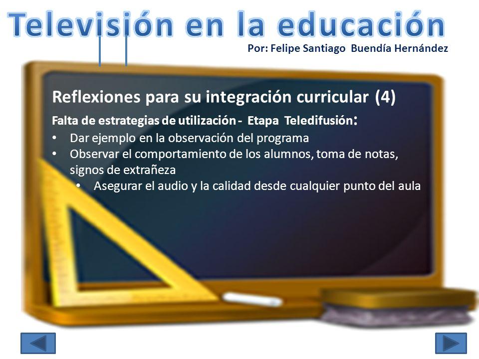 Televisión en la educación
