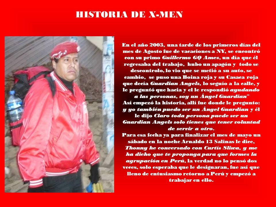 HISTORIA DE X-MEN