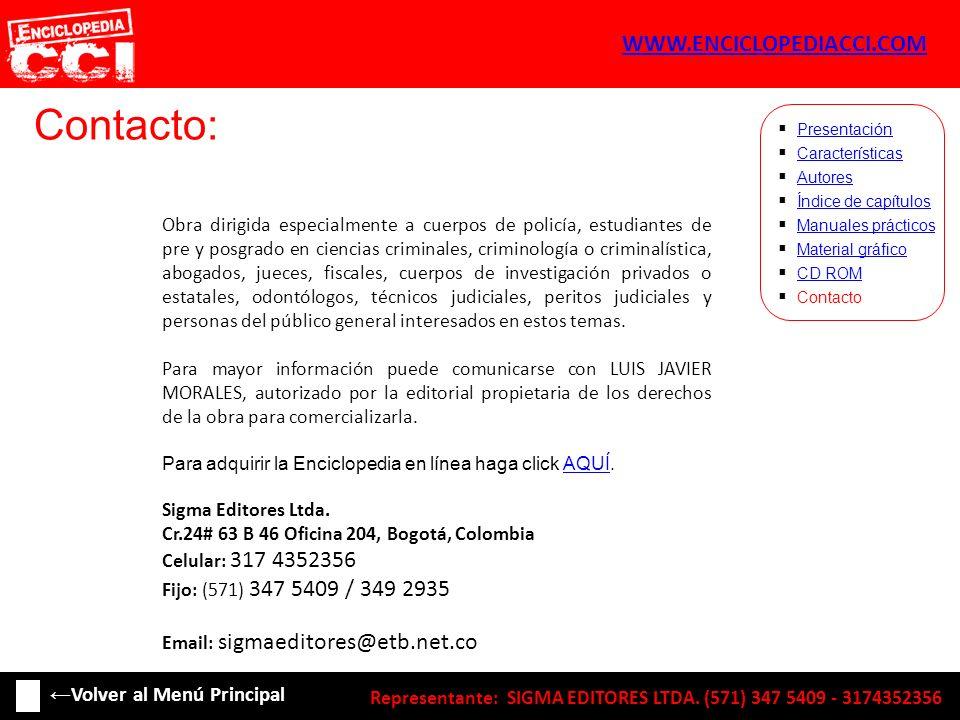Contacto: WWW.ENCICLOPEDIACCI.COM ←Volver al Menú Principal
