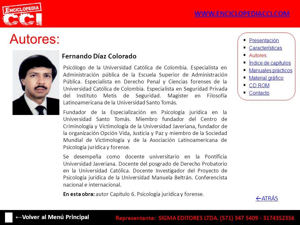 Autores: WWW.ENCICLOPEDIACCI.COM ←ATRÁS ←Volver al Menú Principal