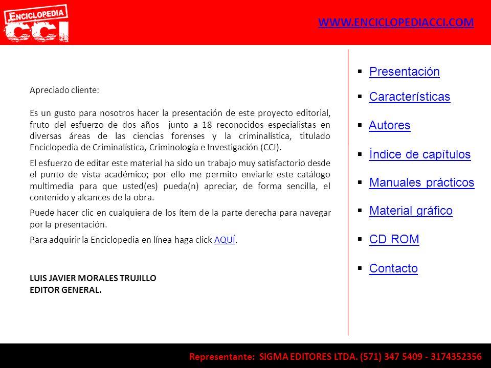 WWW.ENCICLOPEDIACCI.COM Presentación Características Autores