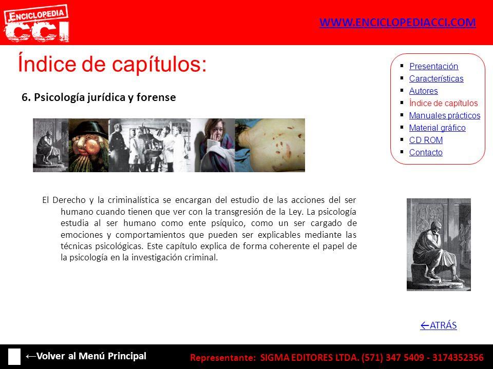 Índice de capítulos: WWW.ENCICLOPEDIACCI.COM