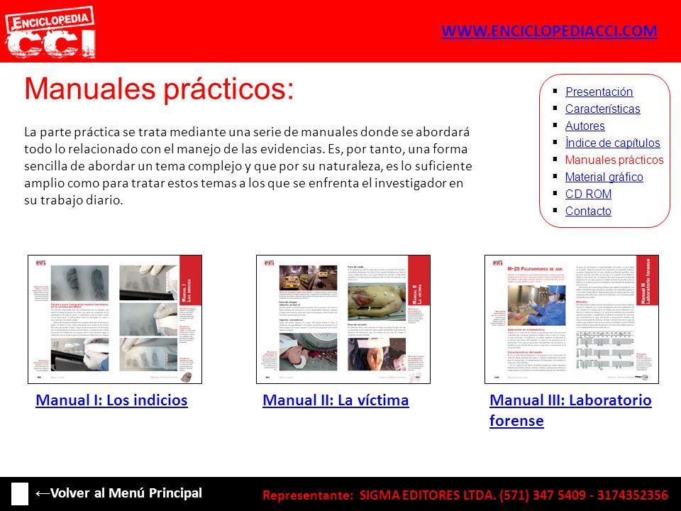 Manuales prácticos: WWW.ENCICLOPEDIACCI.COM Manual I: Los indicios