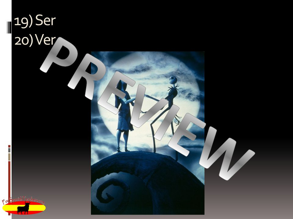 19) Ser 20) Ver PREVIEW