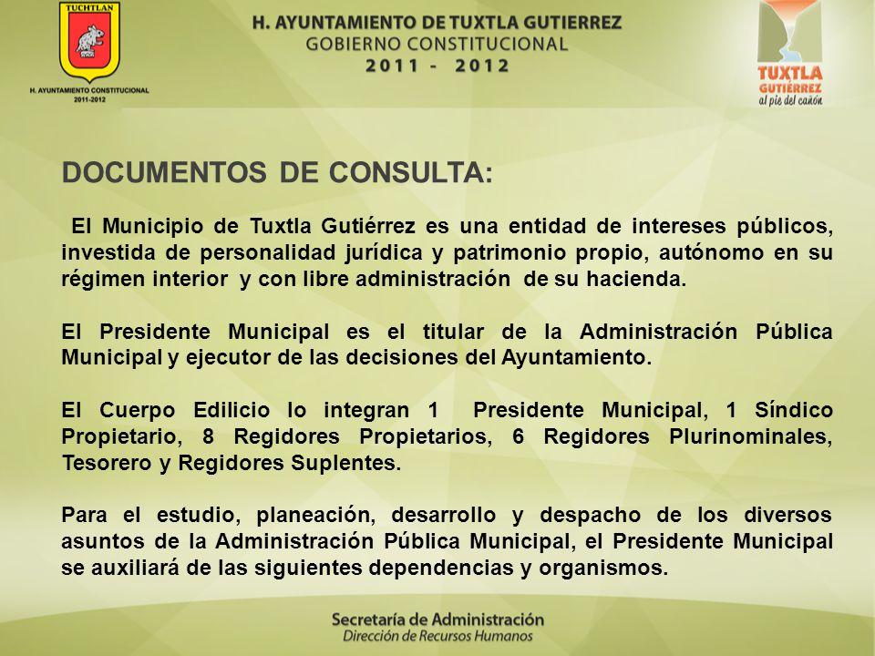 DOCUMENTOS DE CONSULTA: