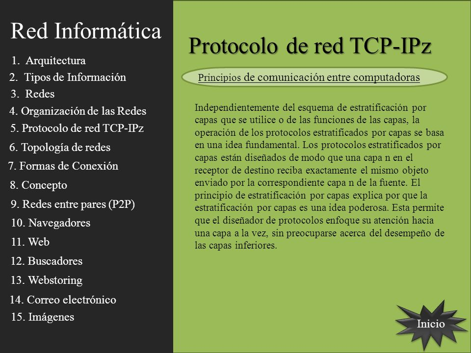 Protocolo de red TCP-IPz