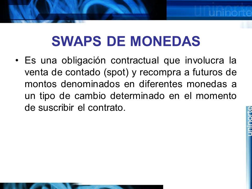 SWAPS DE MONEDAS