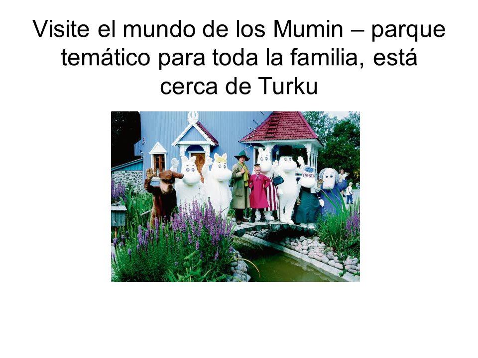 Visite el mundo de los Mumin – parque temático para toda la familia, está cerca de Turku
