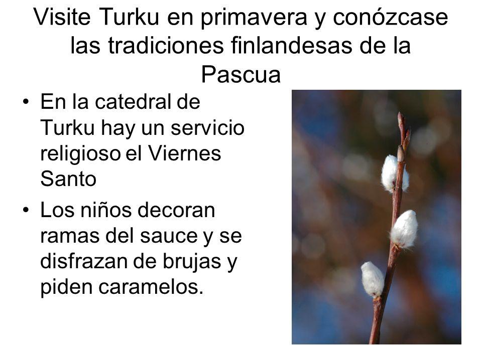 Visite Turku en primavera y conózcase las tradiciones finlandesas de la Pascua