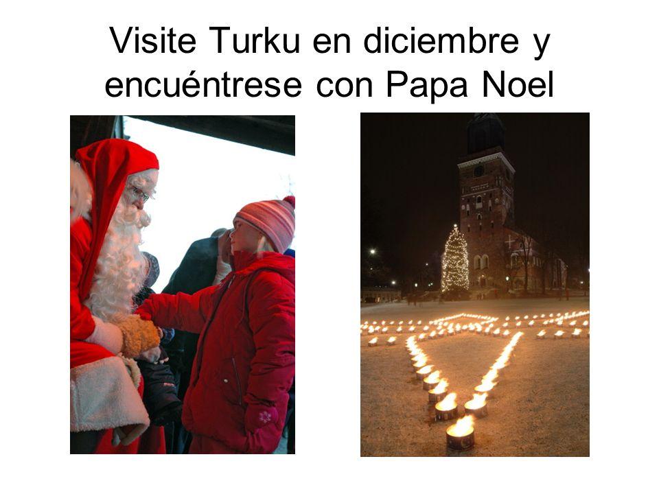 Visite Turku en diciembre y encuéntrese con Papa Noel