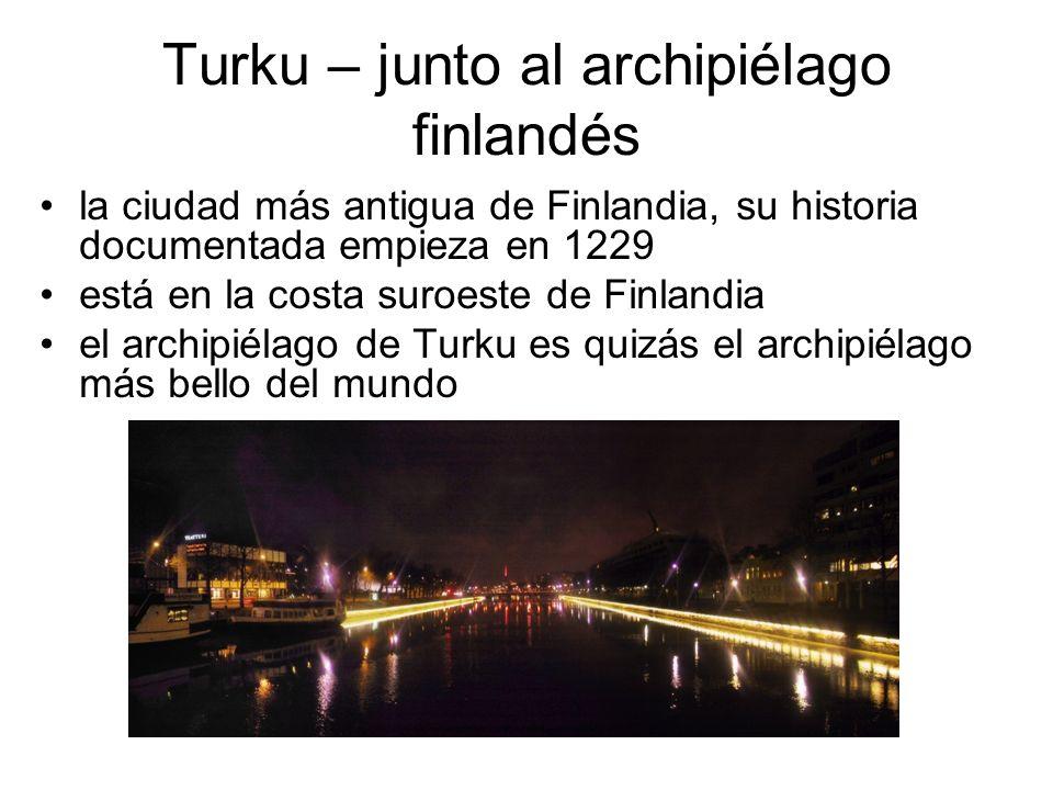 Turku – junto al archipiélago finlandés