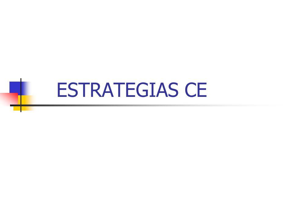 ESTRATEGIAS CE