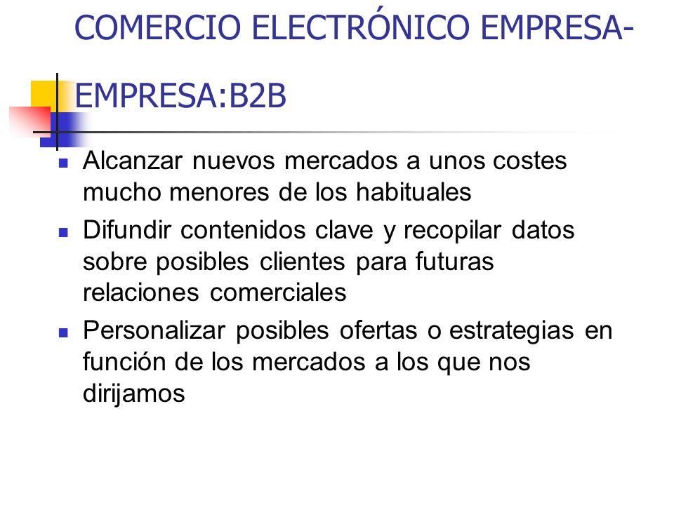COMERCIO ELECTRÓNICO EMPRESA-EMPRESA:B2B
