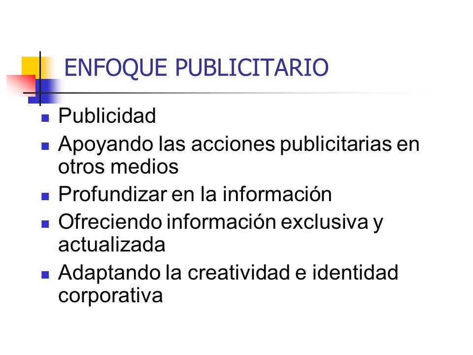 ENFOQUE PUBLICITARIO Publicidad