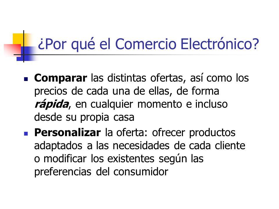 ¿Por qué el Comercio Electrónico