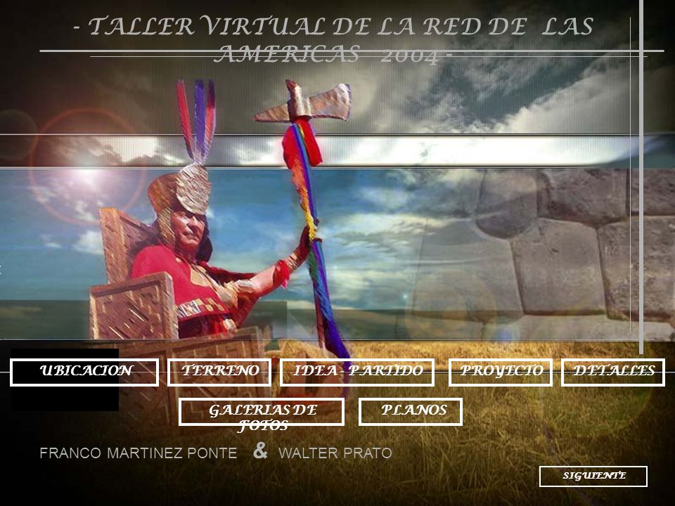 - TALLER VIRTUAL DE LA RED DE LAS AMERICAS 2004 -