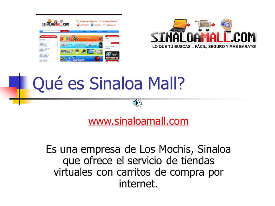 Qué es Sinaloa Mall www.sinaloamall.com