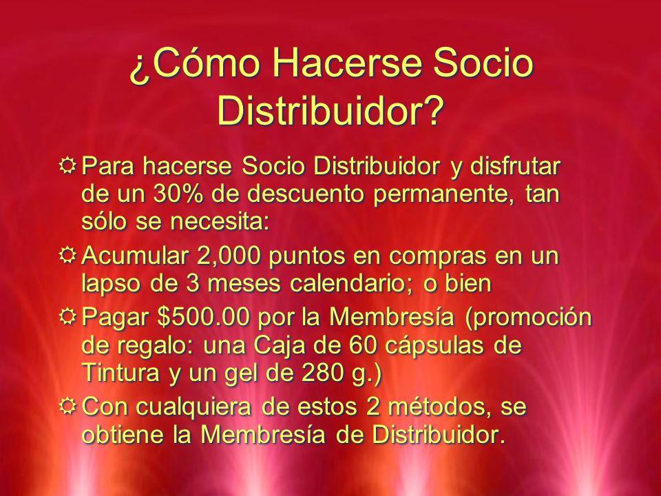 ¿Cómo Hacerse Socio Distribuidor
