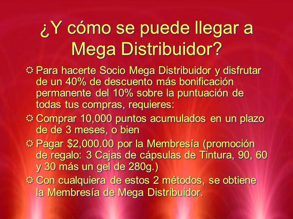 ¿Y cómo se puede llegar a Mega Distribuidor