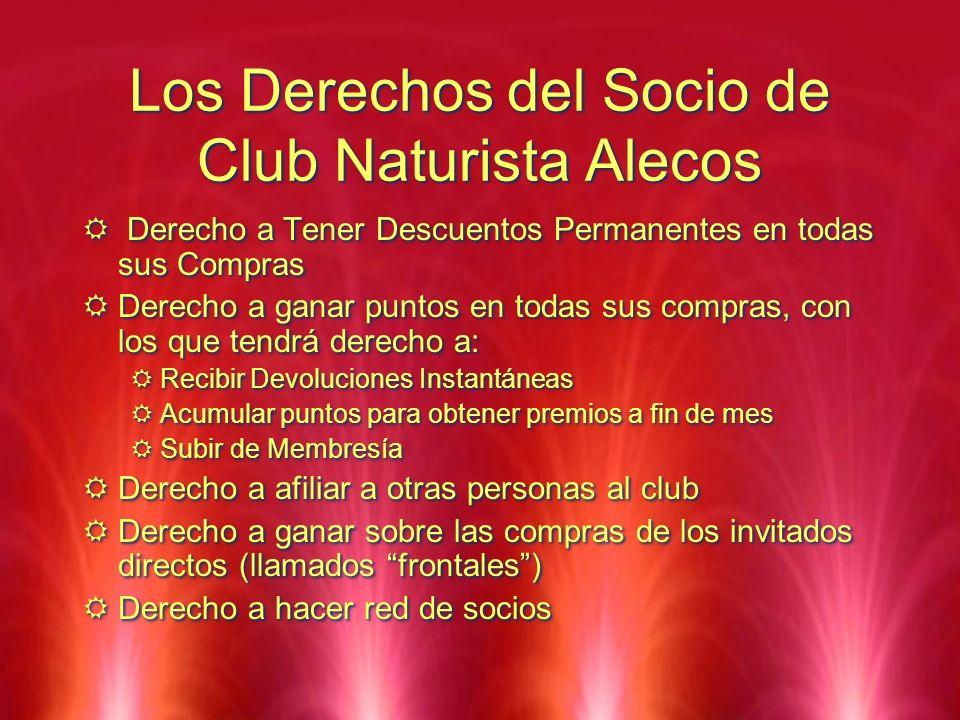 Los Derechos del Socio de Club Naturista Alecos