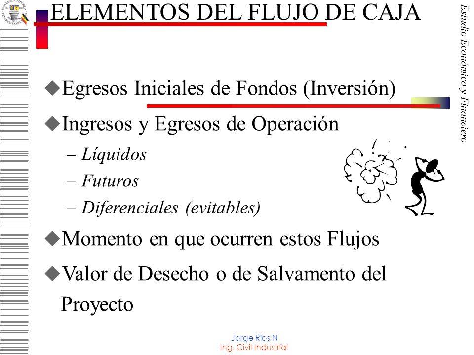 ELEMENTOS DEL FLUJO DE CAJA