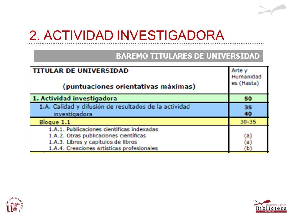 2. ACTIVIDAD INVESTIGADORA