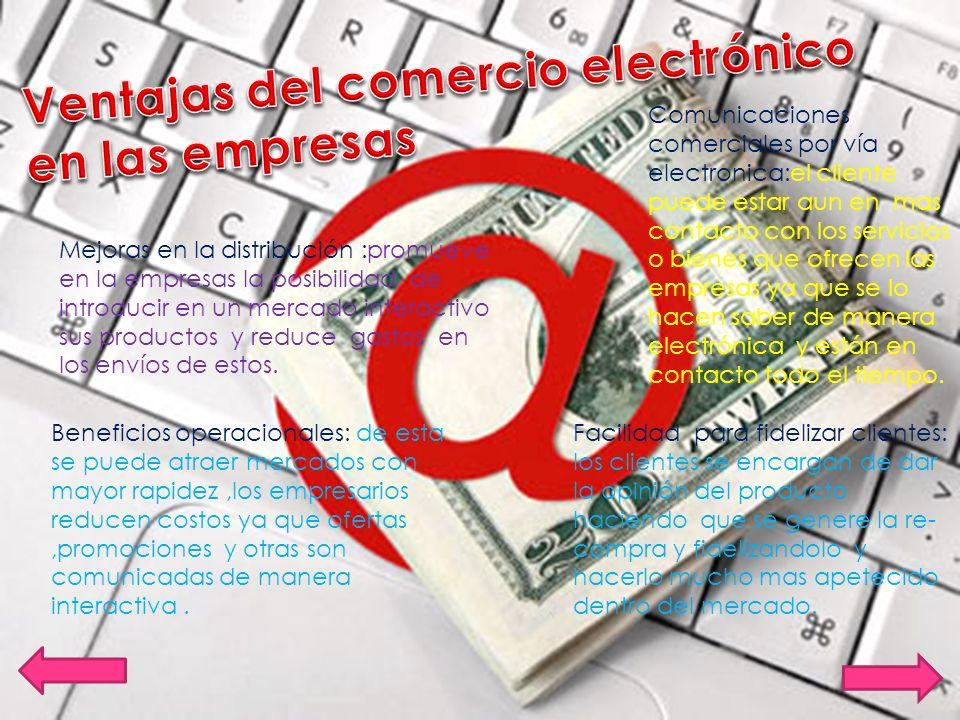Ventajas del comercio electrónico en las empresas