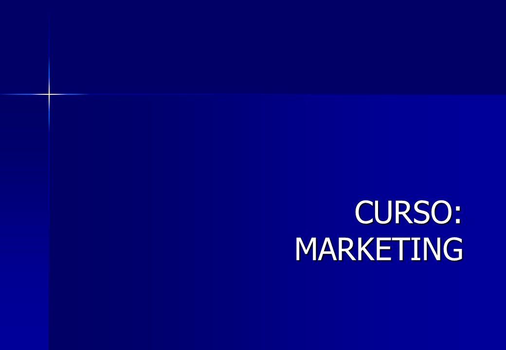 CURSO: MARKETING