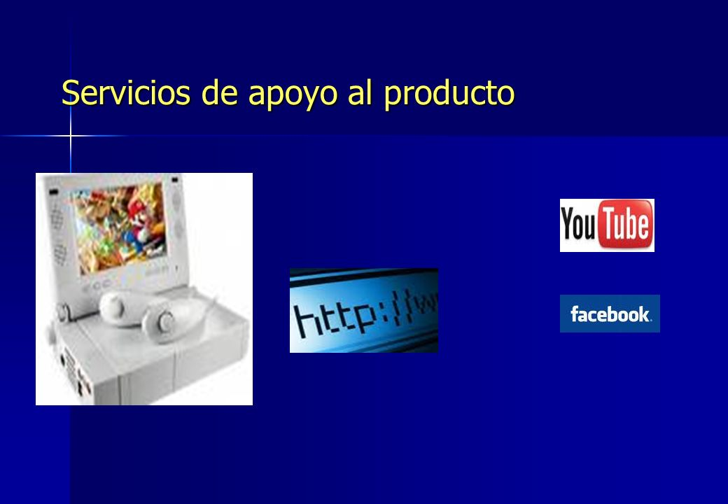 Servicios de apoyo al producto