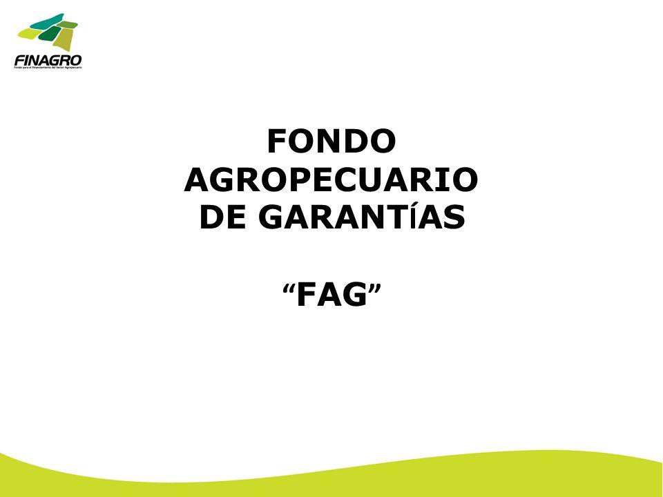 FONDO AGROPECUARIO DE GARANTÍAS FAG