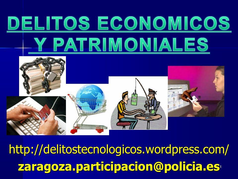 DELITOS ECONOMICOS Y PATRIMONIALES
