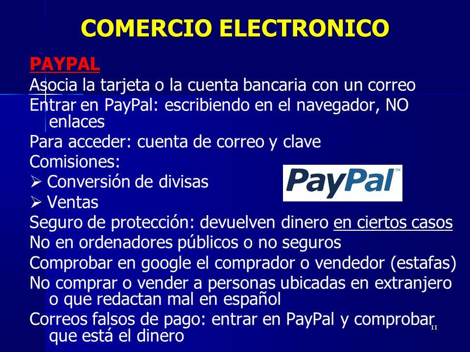COMERCIO ELECTRONICO PAYPAL