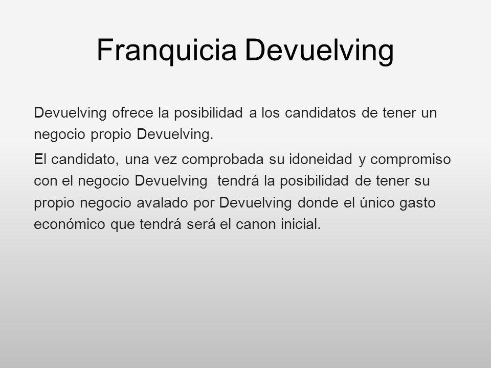 Franquicia Devuelving