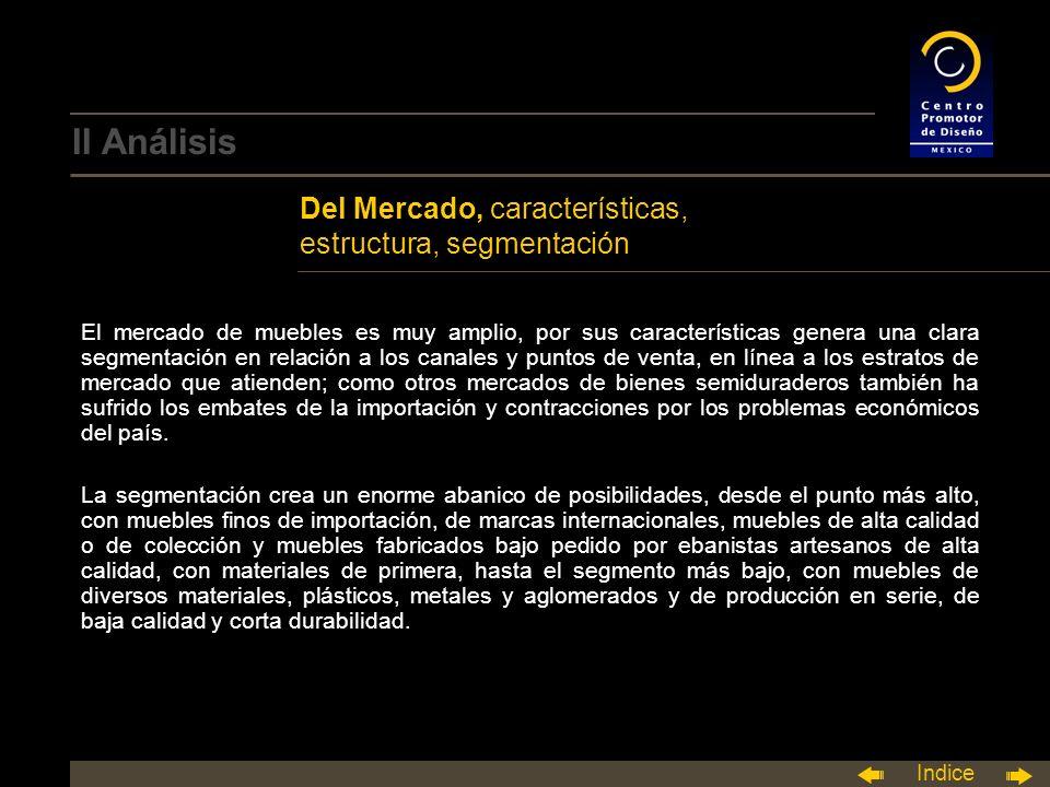 II Análisis Del Mercado, características, estructura, segmentación