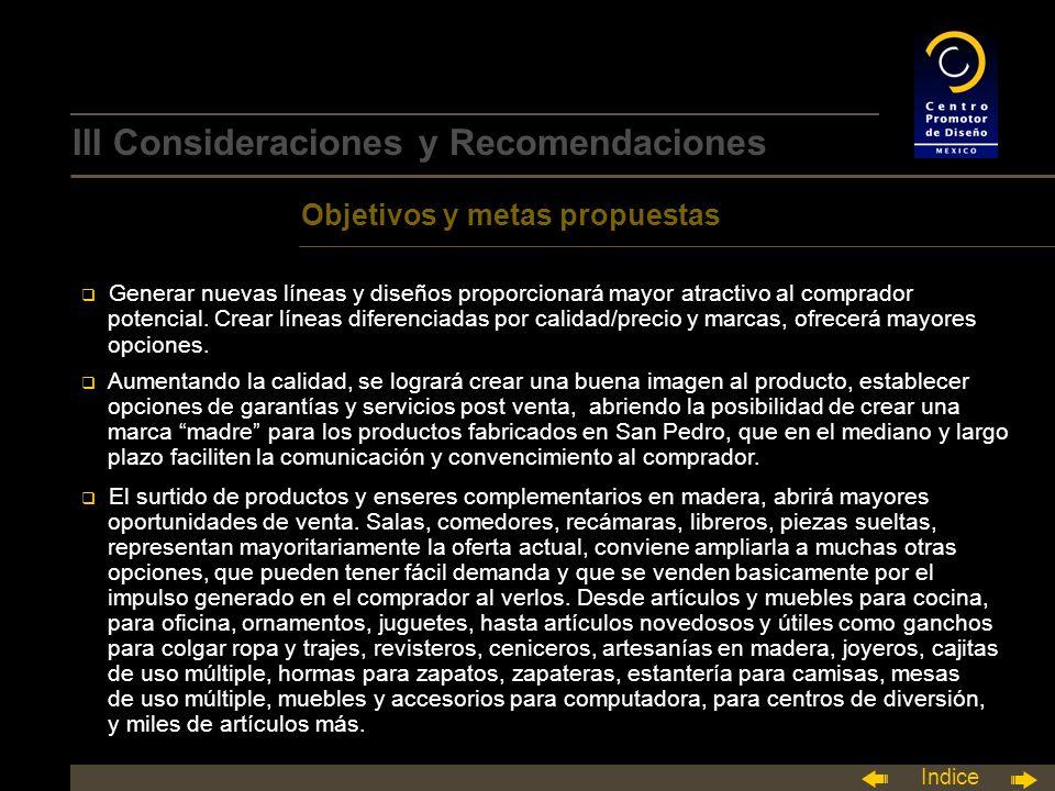 III Consideraciones y Recomendaciones