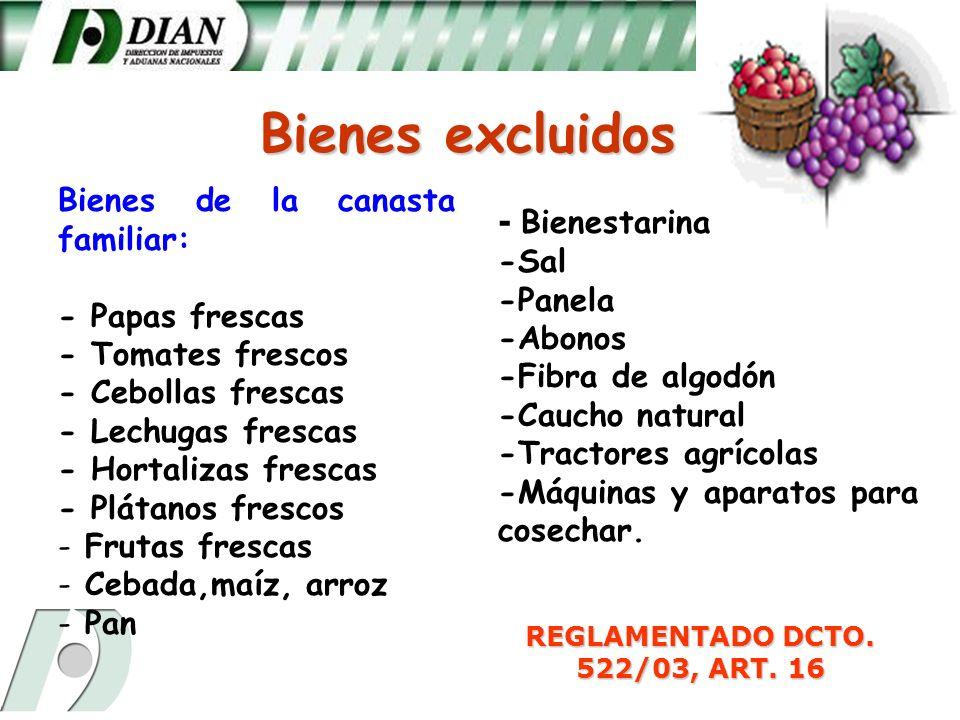 REGLAMENTADO DCTO. 522/03, ART. 16