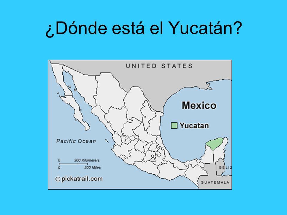 ¿Dónde está el Yucatán