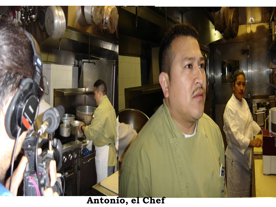 Antonio, el Chef