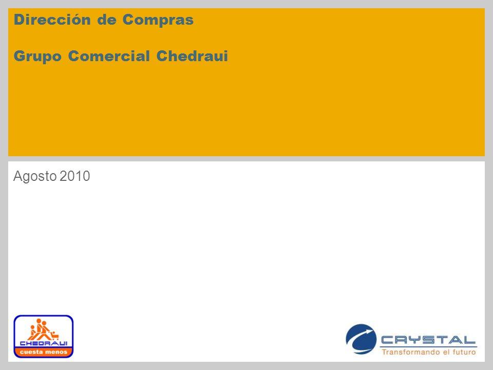 Dirección de Compras Grupo Comercial Chedraui