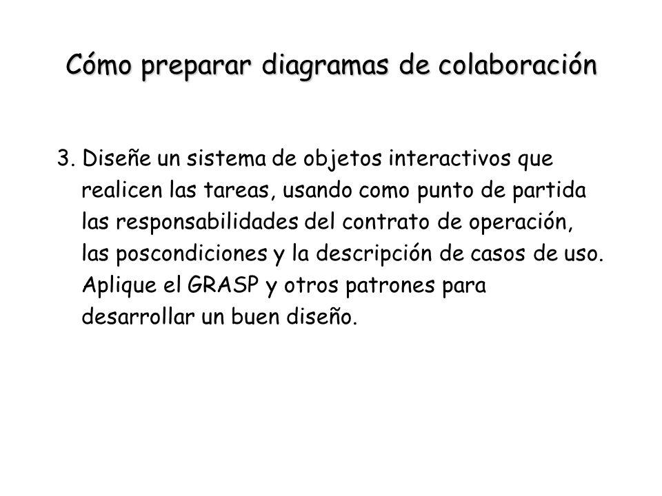 Cómo preparar diagramas de colaboración