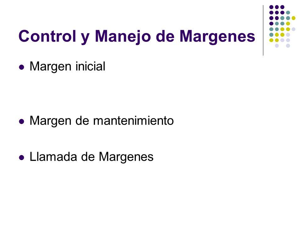 Control y Manejo de Margenes