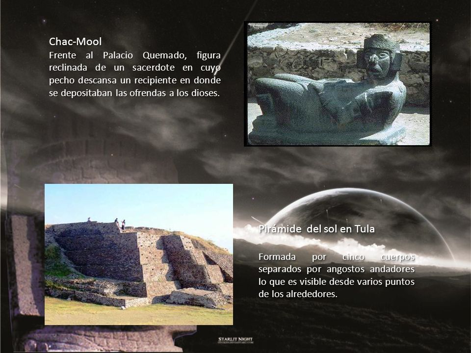 Pirámide del sol en Tula