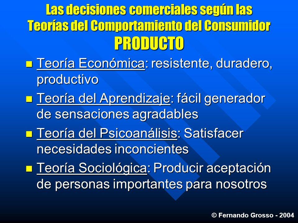Teoría Económica: resistente, duradero, productivo