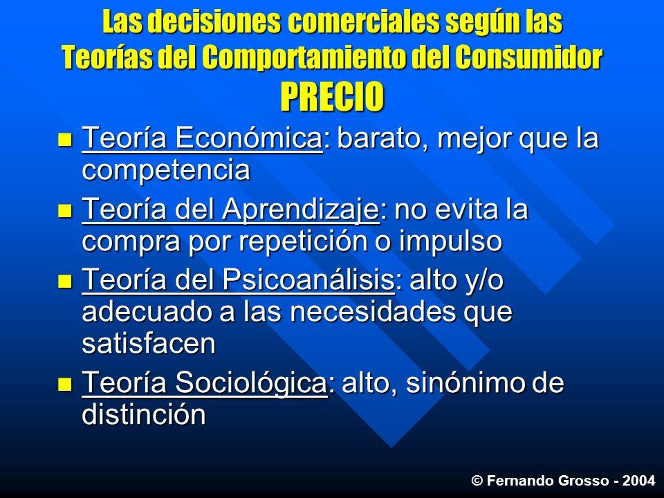 Teoría Económica: barato, mejor que la competencia
