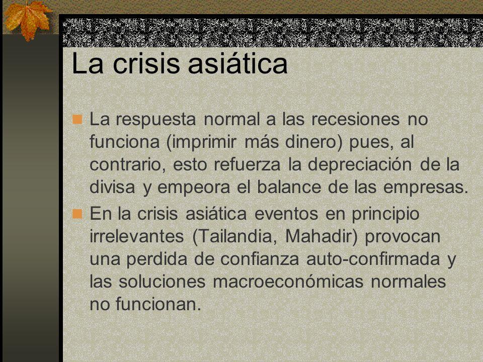 La crisis asiática