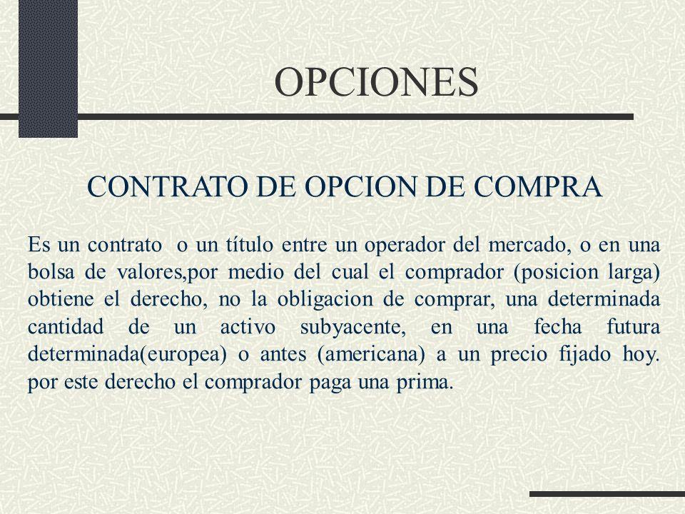 CONTRATO DE OPCION DE COMPRA