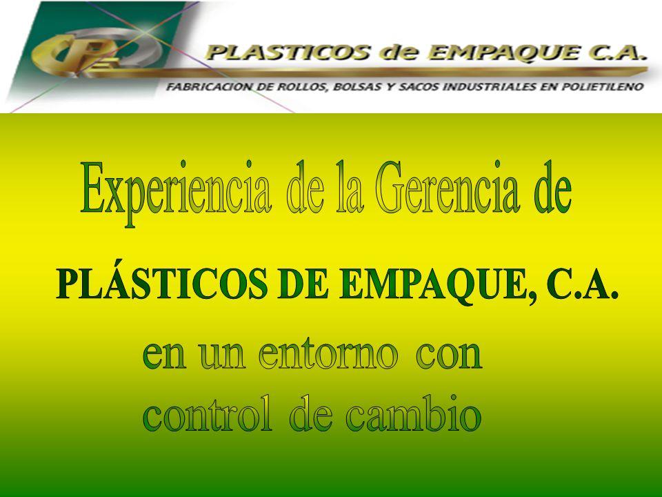 PLÁSTICOS DE EMPAQUE, C.A.