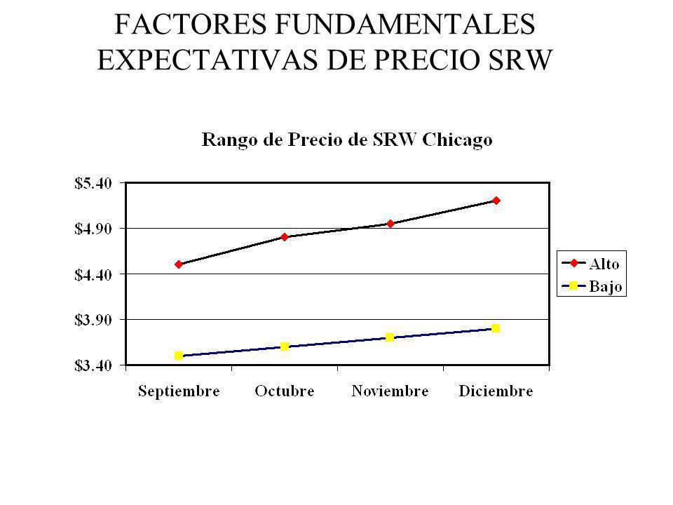 FACTORES FUNDAMENTALES EXPECTATIVAS DE PRECIO SRW