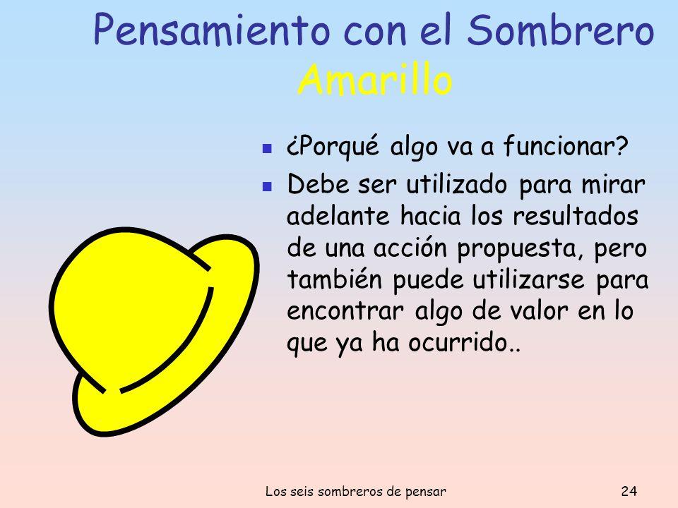 Pensamiento con el Sombrero Amarillo