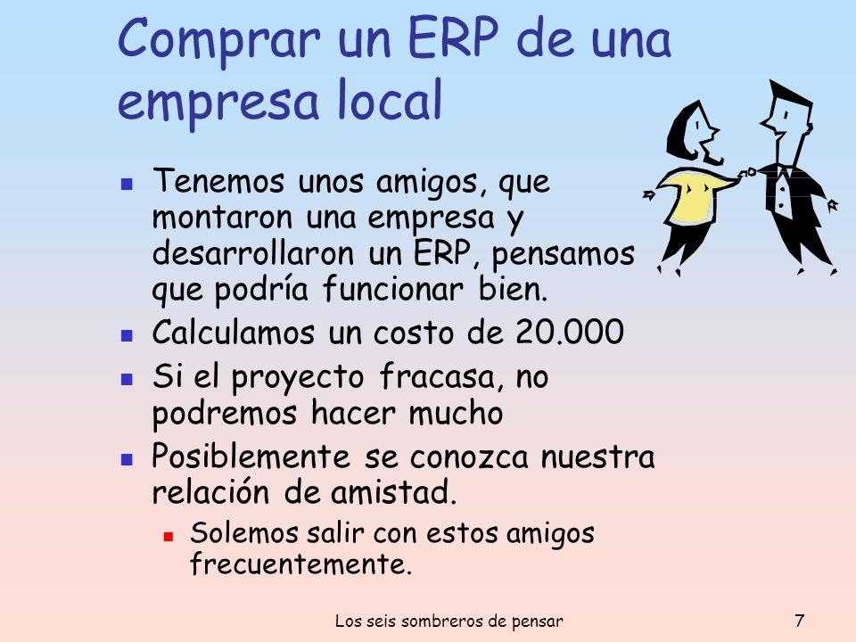 Comprar un ERP de una empresa local